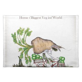 Love Yorkshire 'world's biggest parsnip' Placemat