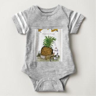 Love Yorkshire 'world's fattest pineapple' Baby Bodysuit
