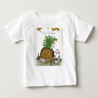 Love Yorkshire 'world's fattest pineapple' Baby T-Shirt