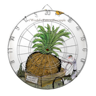 Love Yorkshire 'world's fattest pineapple' Dartboard