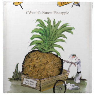 Love Yorkshire 'world's fattest pineapple' Napkin