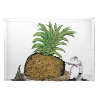 Love Yorkshire 'world's fattest pineapple' Placemat