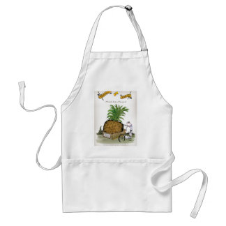 Love Yorkshire 'world's fattest pineapple' Standard Apron