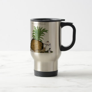 Love Yorkshire 'world's fattest pineapple' Travel Mug