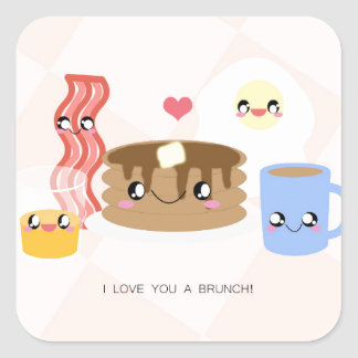 Love You a Brunch Stickers (Sheet of 20)