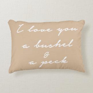 Love You A Bushel Pillow