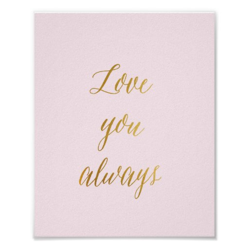 Love you always - Poster