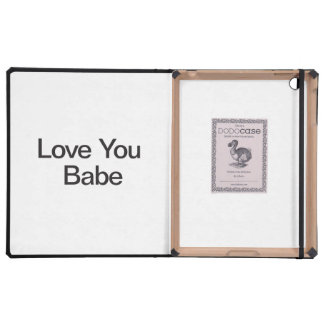 Love You Babe Cases For iPad