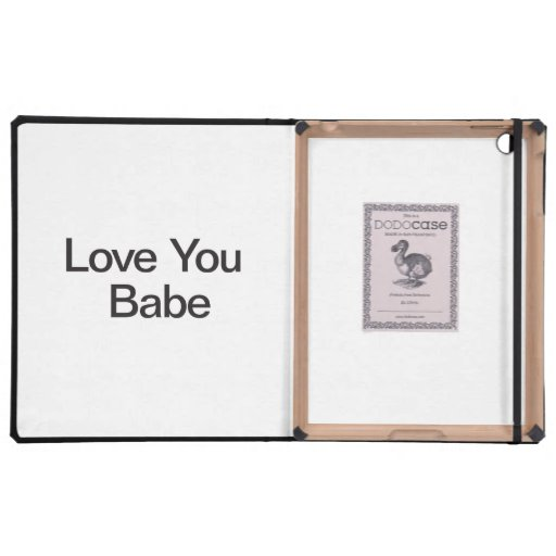 Love You Babe Covers For iPad