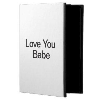 Love You Babe iPad Air Cover