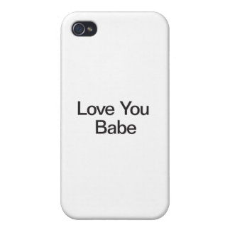 Love You Babe Case For iPhone 4
