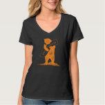 Love You California--Orange and Black T-shirts