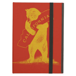 Love You California--Red and Gold iPad Air Cases