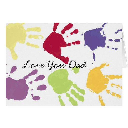Love You Dad Birthday Card