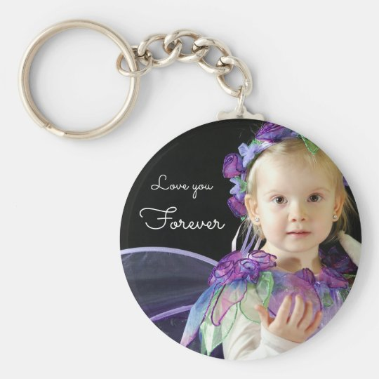 Love you Forever | upload your photo add name Key Ring