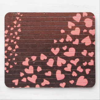 Love You Graffiti Street Art Mouse Pad