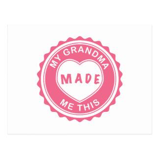 Love You, Grandma! Postcard