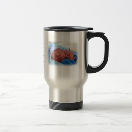 Love You Grandpa From the Little Dude Travel Mug
