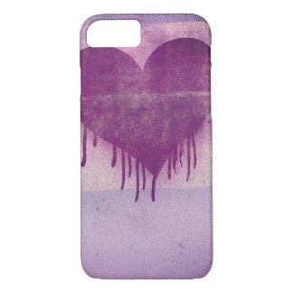 Love You Heart Street Art iPhone 8/7 Case