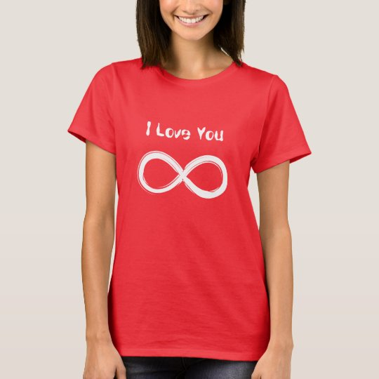 Love You Infinity Couple T-Shirt