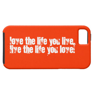 Love you life iPhone Hoesje Case For The iPhone 5