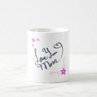 Love You Mom Basic White Mug