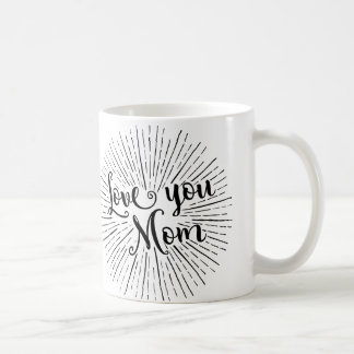 love you mom christmas mug for mother