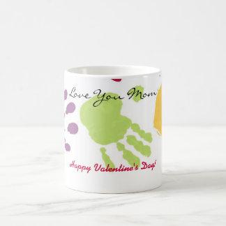 Love You Mom, Happy Valentine's Day! Coffee Mug