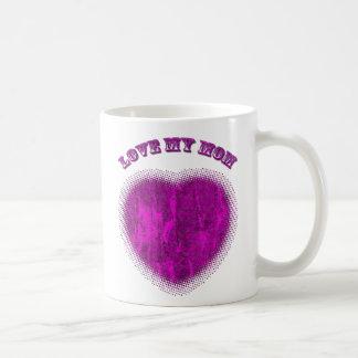 Love you mom-mug basic white mug