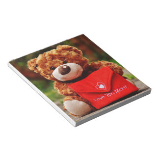 Love you Mom Notepad