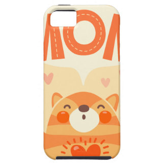 love you mom tough iPhone 5 case
