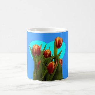 Love You Mom - Tulips The MUSEUM Zazzle Basic White Mug
