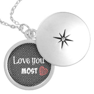 Love You Most Lockets