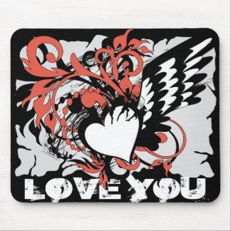 LOVE YOU_mousepad Mouse Pad