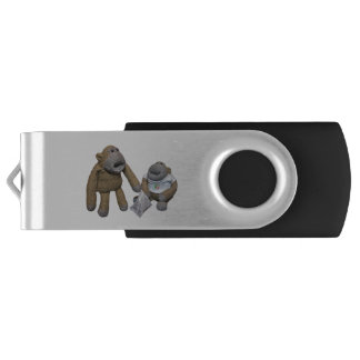 Love you Mrs Monkey Flash drive