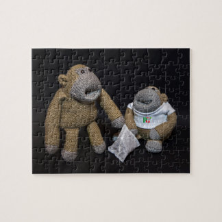 Love you Mrs Monkey Jigsaw Puzzle