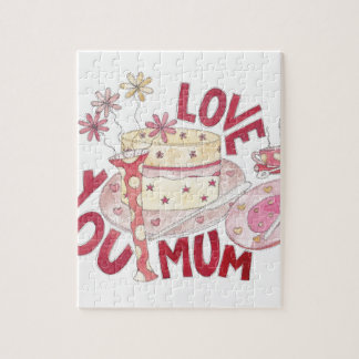 Love You Mum Jigsaw Puzzle