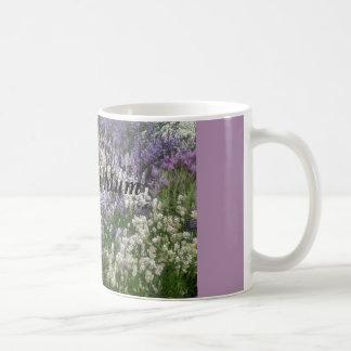 Love You Mum Lavender Mug Basic White Mug