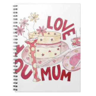 Love You Mum Notebook