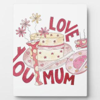 Love You Mum Plaque