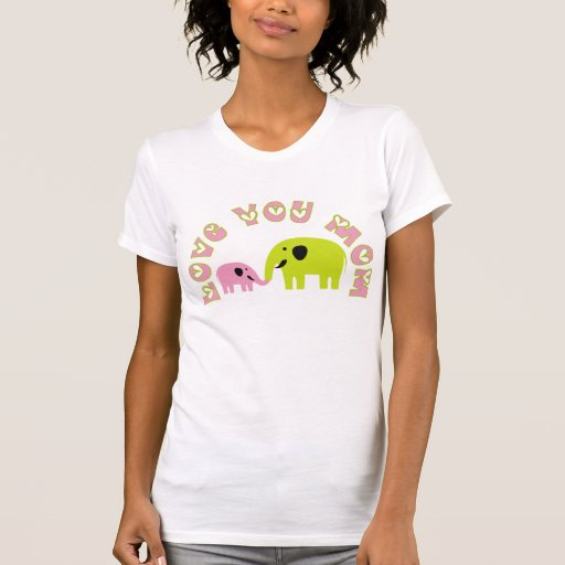 Love You Mum T-shirts