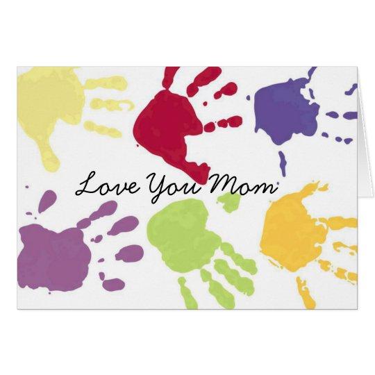 Love You Mum Valentine's Card