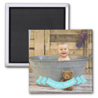 Love You Nana | Custom Instagram Baby Photo Magnet