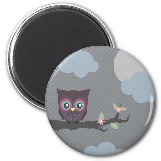 Love You Owl-ways! 6 Cm Round Magnet