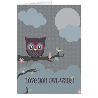 Love You Owl-ways! Greeting Card