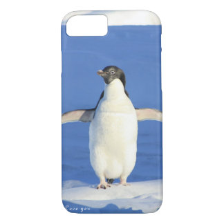 Love you penguin gift iPhone 8/7 case