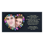 Love you Photocardl Custom Photo Card