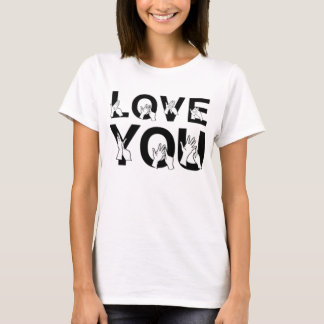 Love You Sign Language T-Shirt