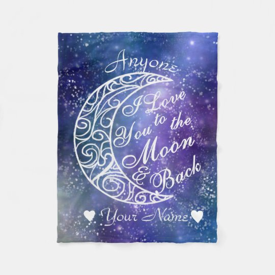 Love You To The Moon and Back Personalised