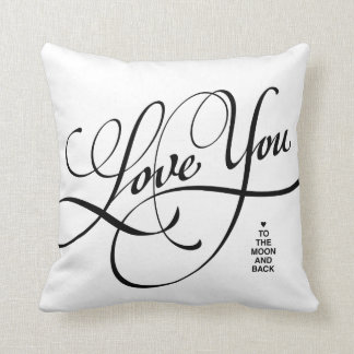 LOVE YOU TO THE MOON AND BACK | PILLOW THROW CUSHION